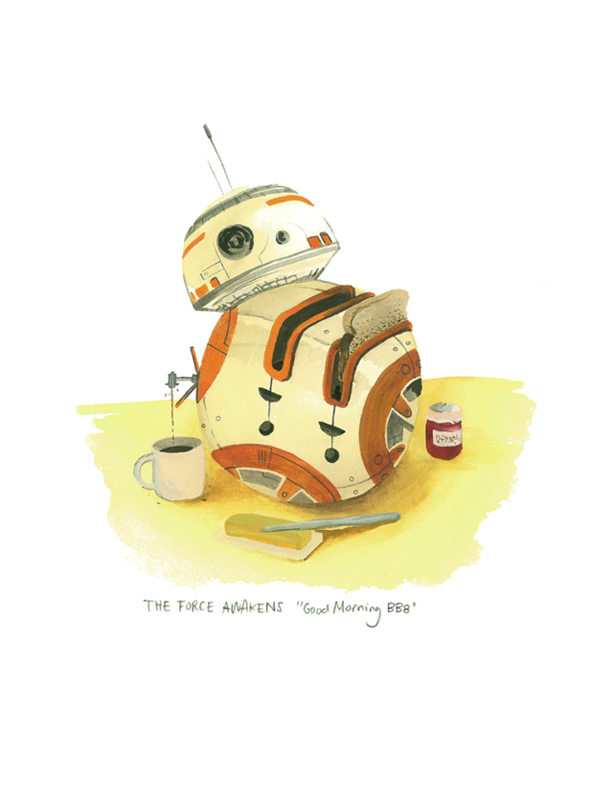 Good Morning BB8