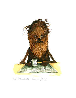Good Morning Chewbacca