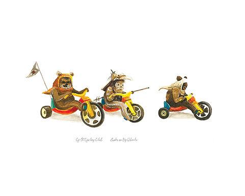 Ewoks on Big Wheels