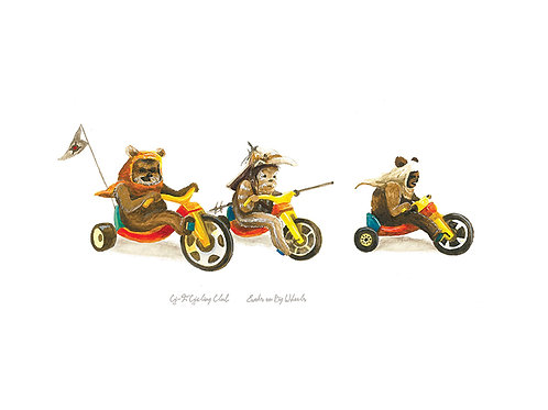 Ewoks on Big Wheels