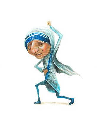 Mother Theresa - print