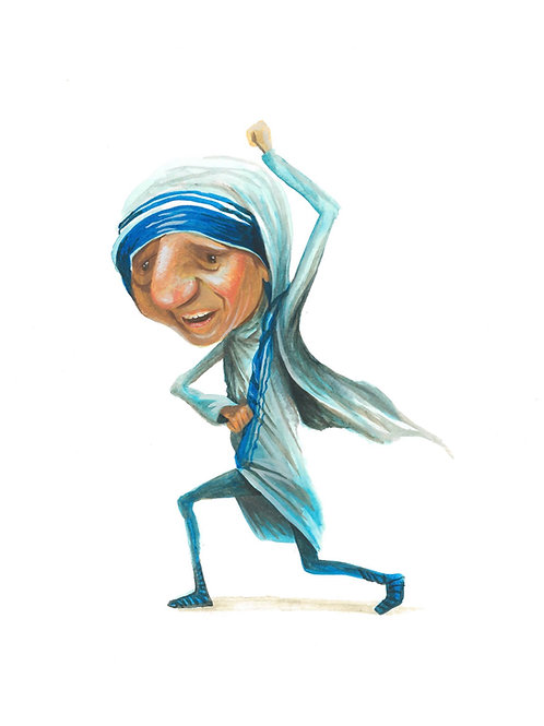 Mother Theresa - print