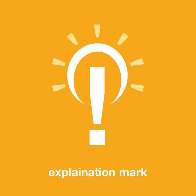 Explaination Mark