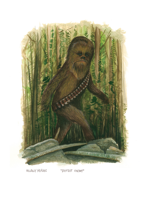 Bigfoot Chewy