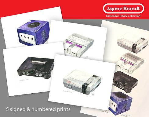Nintendo History Print Collection