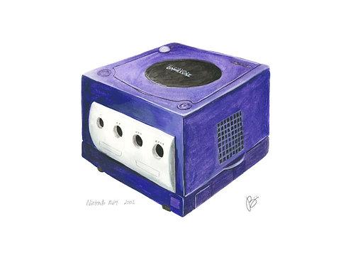 Gamecube - Nintendo History Print