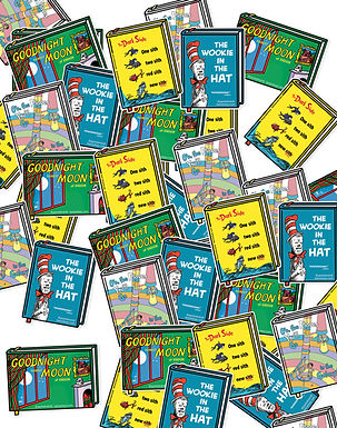 Seuss Wars Sticker Pack (4 vinyl stickers)