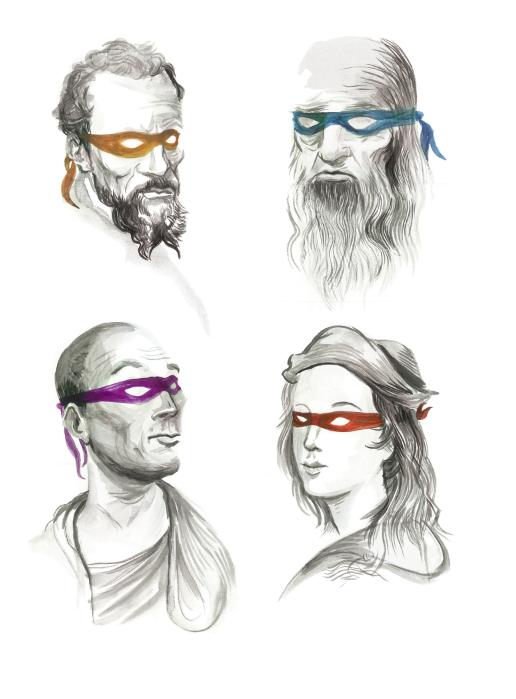 The Original Ninja Artists