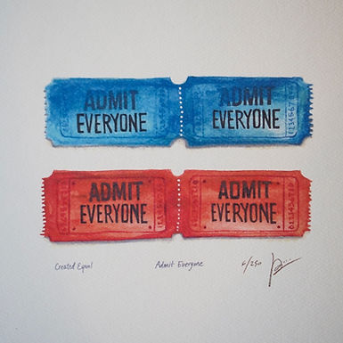 Admit Everyone - Created Equal Series
