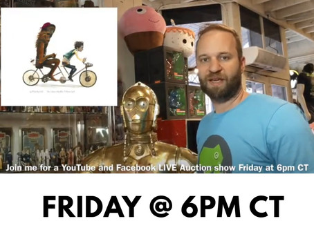 TEE REX - LIVE Auction Show Friday @6pm CT