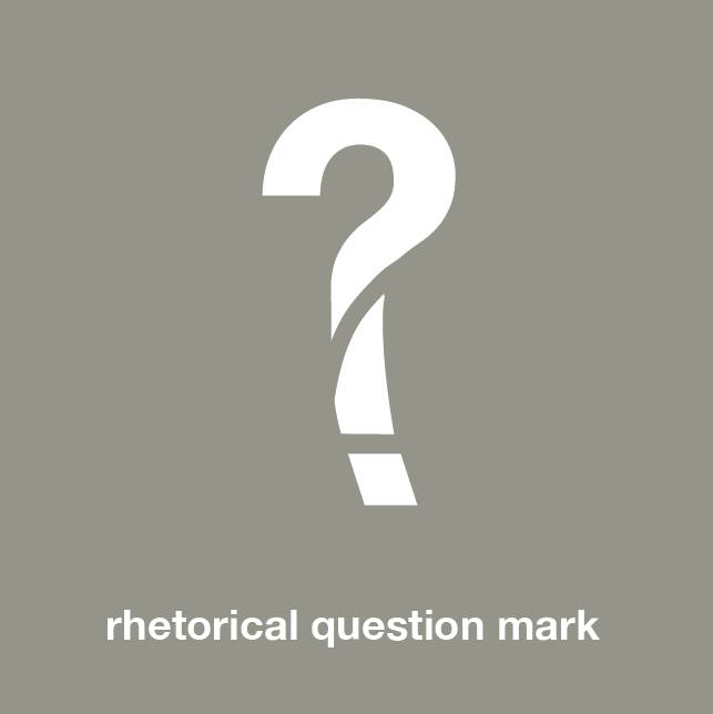 Rhetorical Question Mark
