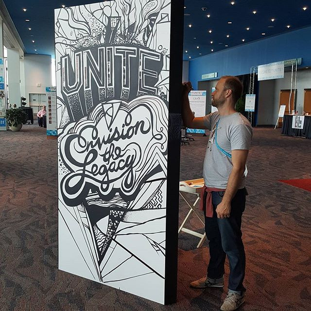 Live typography Illustration & Installation