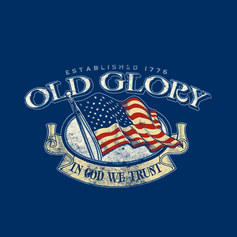 Old Glory Crest
