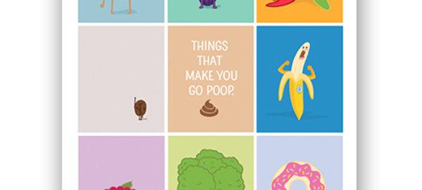 """Poop"" Book & Poster Bundle"