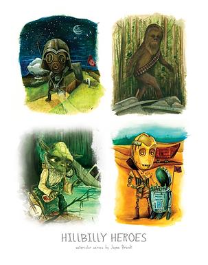 Hillbilly Heroes of a Galaxy Far, Far Away