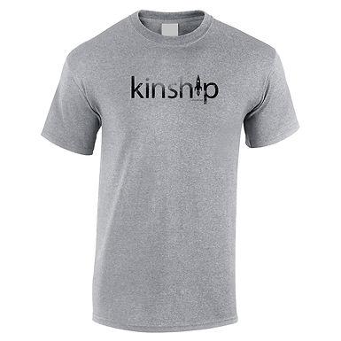 Kinship Logo Grey T-Shirt