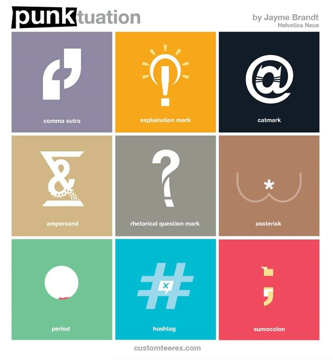 PUNKtuation Poster