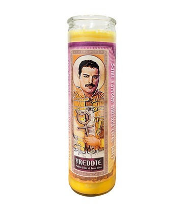 Pop Saints Freddie Mercury Candle