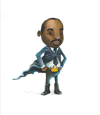 MLK - print