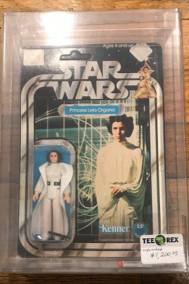 Princess Leia - Star Wars 12 Back-B