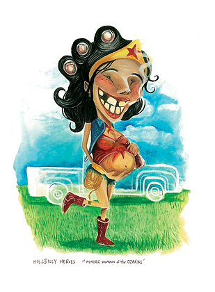 Wonder Woman of the Ozarks