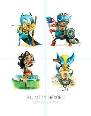 Superheroes - Hillbilly Heroes