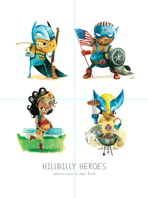 Superheroes - Hillbilly Heroes