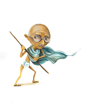 Gandhi - print