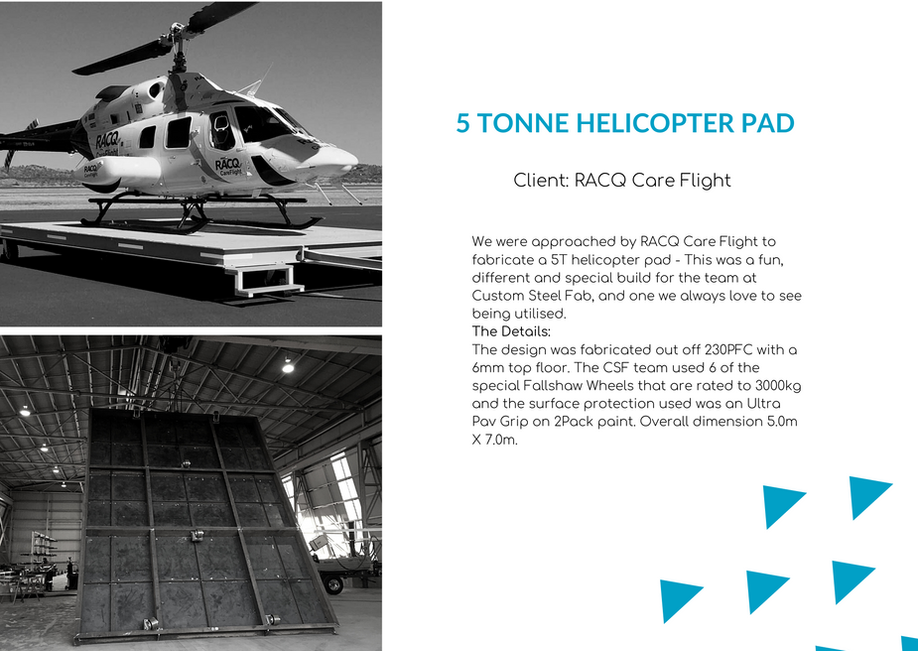 5 Tonne Helicopter