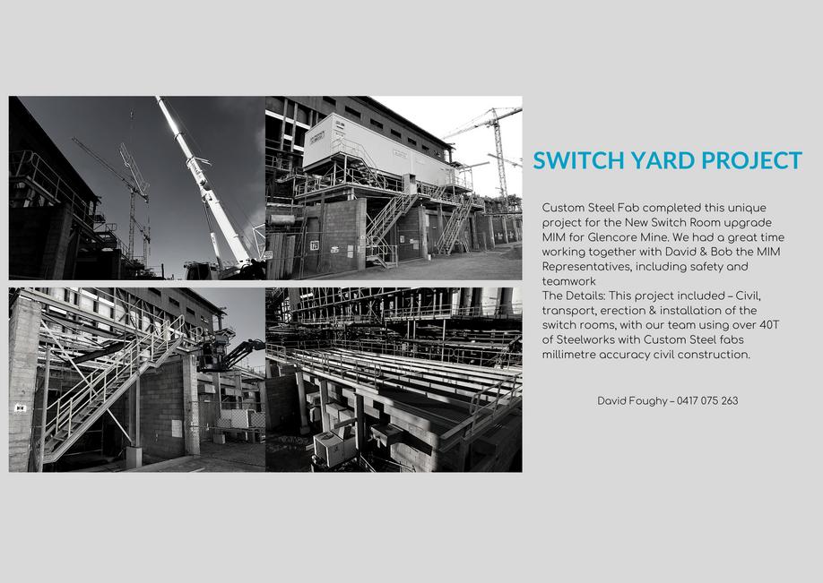 switch yard project