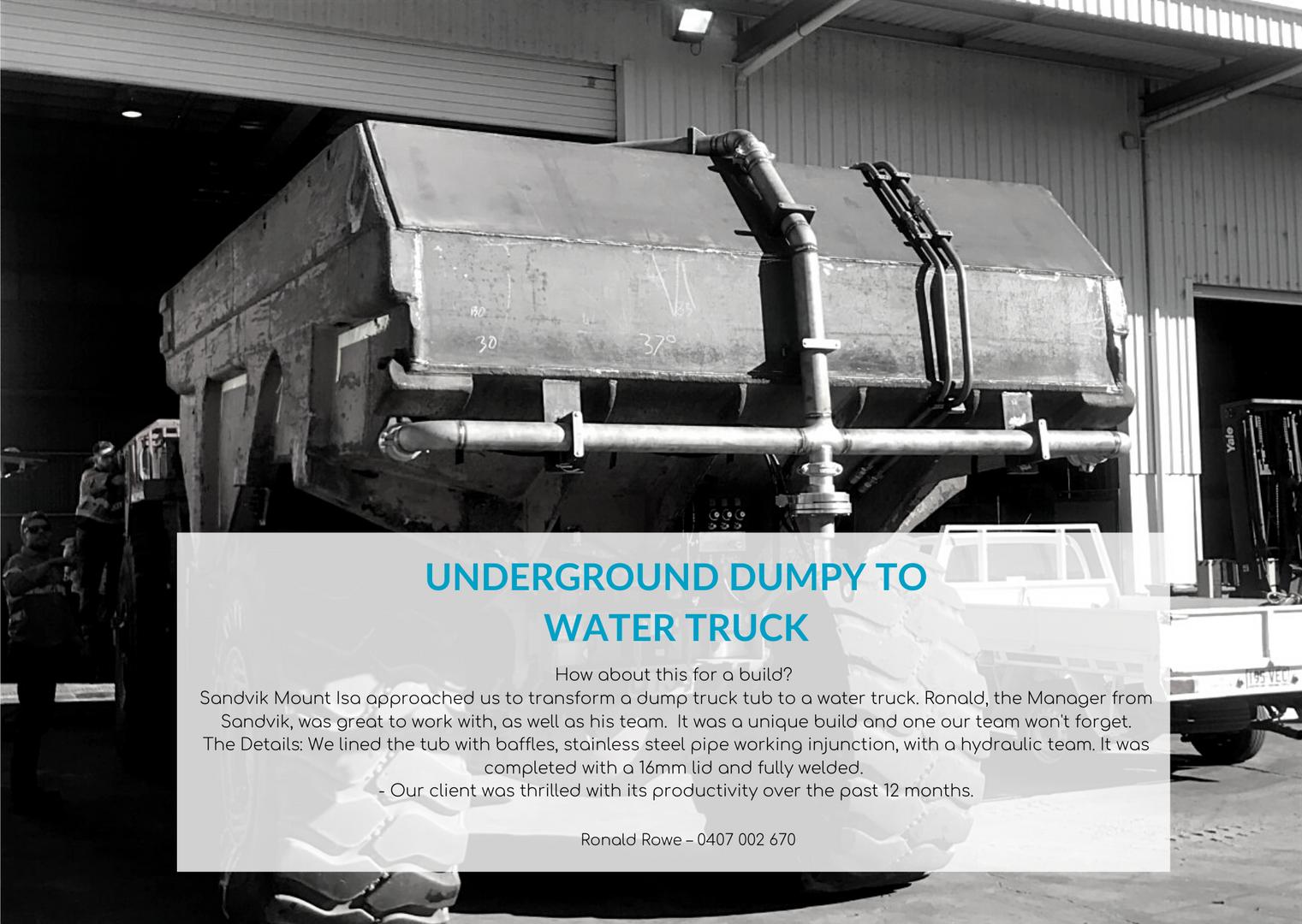 underground dumpy