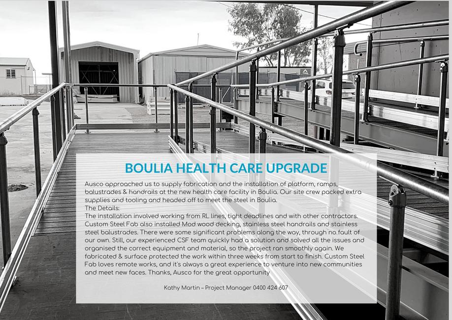 Boulia health care Upgrade