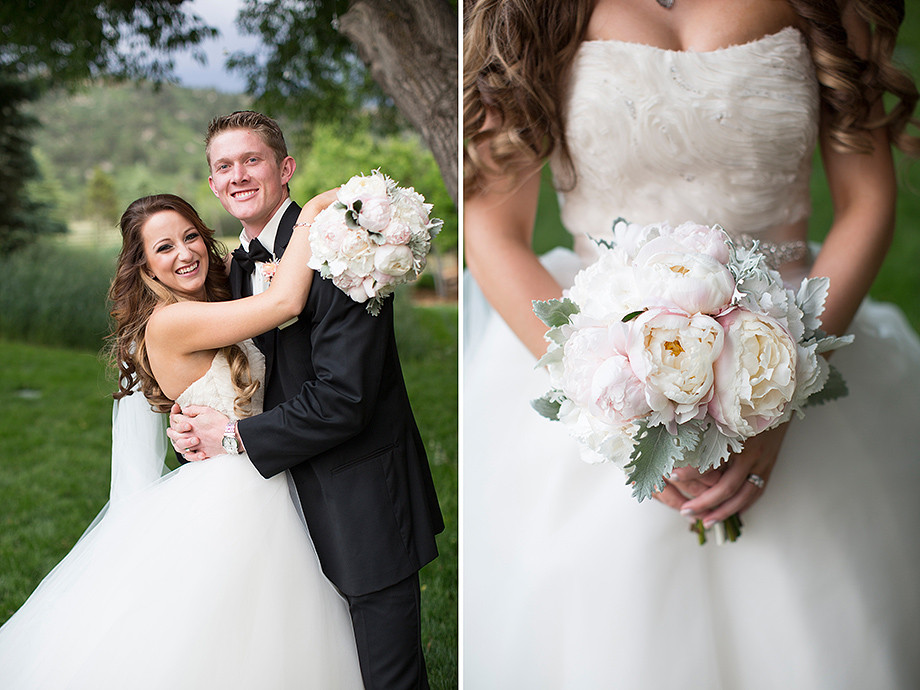 Best Florist for Spruce Mountain Ranch Wedding in Colorado