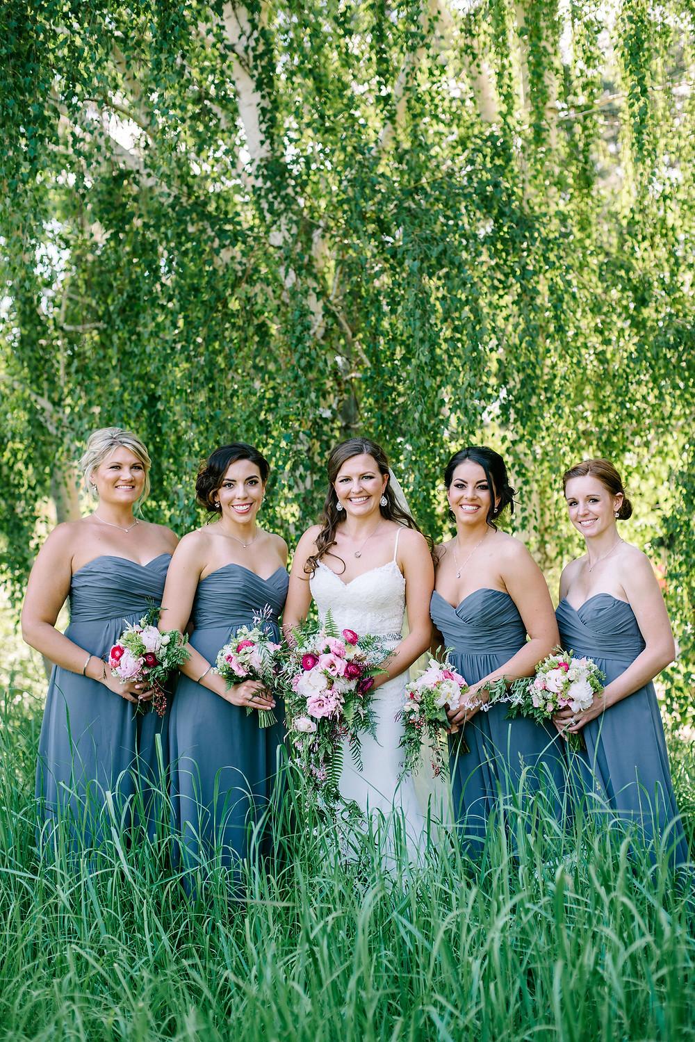 Denver Florist for Weddings at the Denver Botanic Gardens