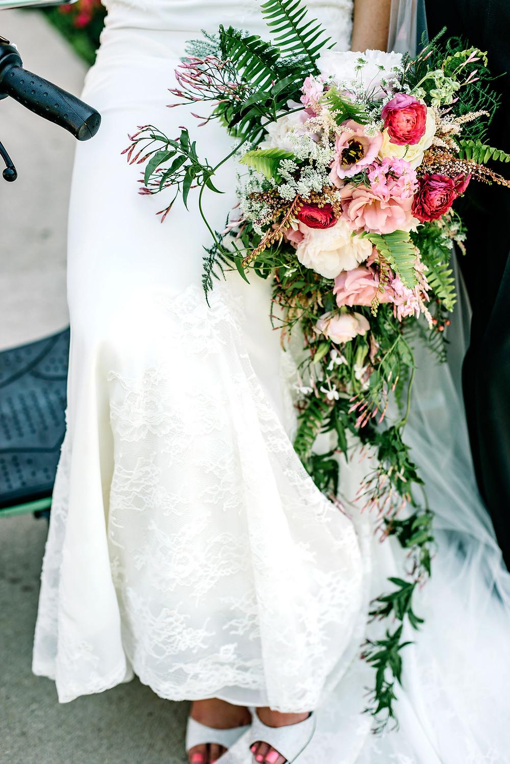 Wedding Florist at the Denver Botanic Gardens