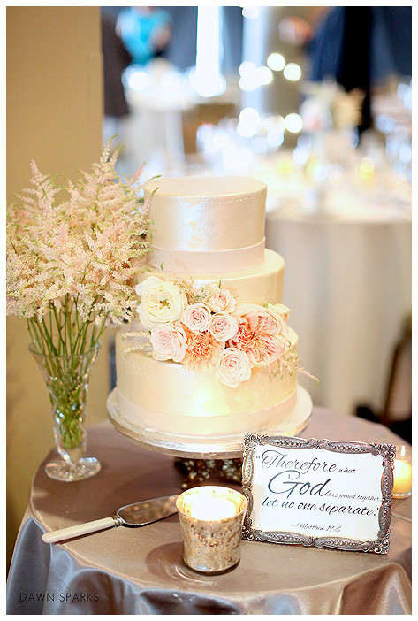 Denver Wedding Florist - Cake