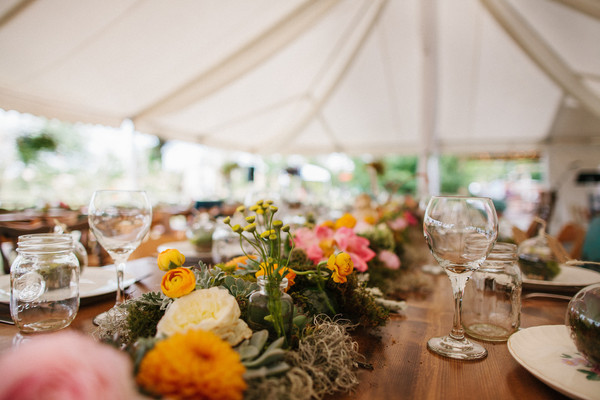 Flowers at Colorado Wedding - Pastures of Plenty
