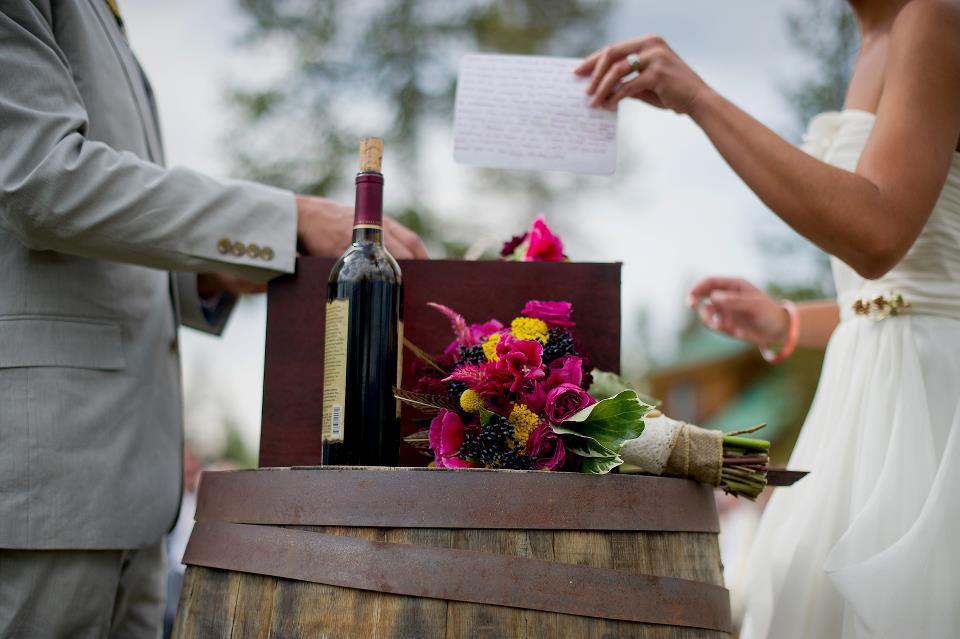 Wild Horse Inn Wedding Flowers in Frasier, CO