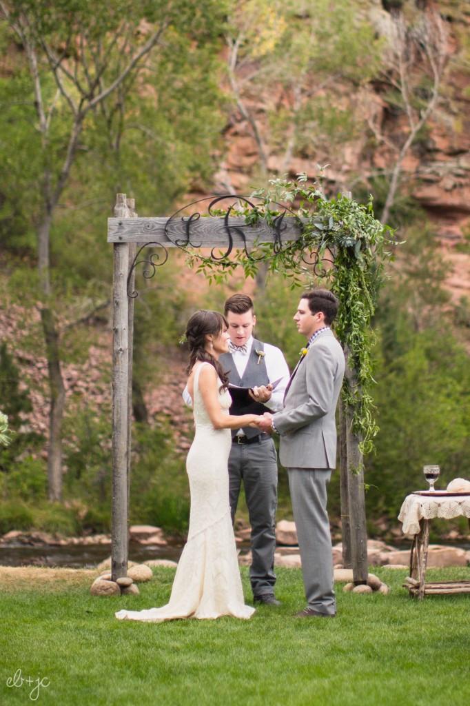 Planet Bluegrass Wedding Flowers in Lyons, Colorado