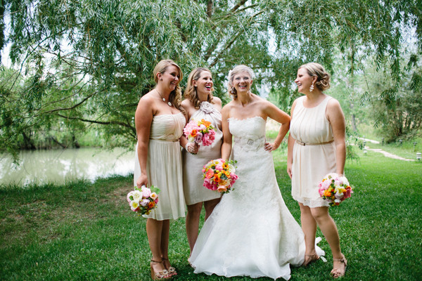 Bouquets at a Colorado Wedding - Pastures of Plenty