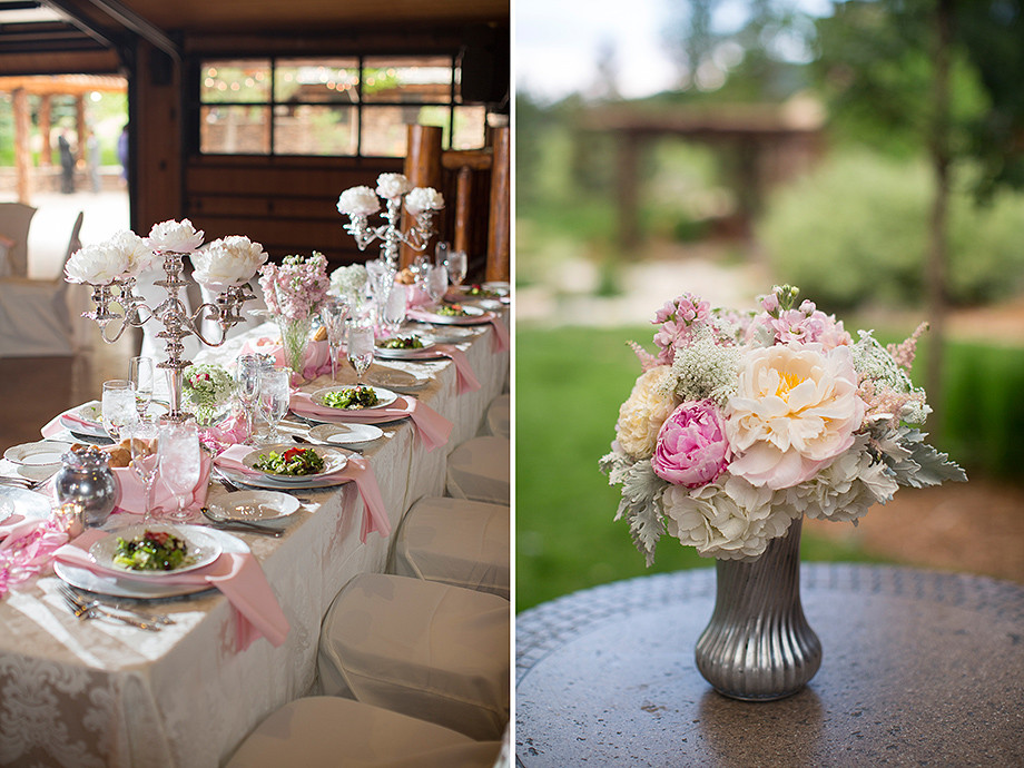 Wedding Florist for Spruce Mountain Ranch in Colorado