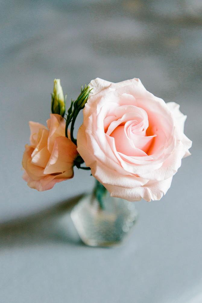 Nikki and Michael's Denver Botanic Garden Wedding Flowers