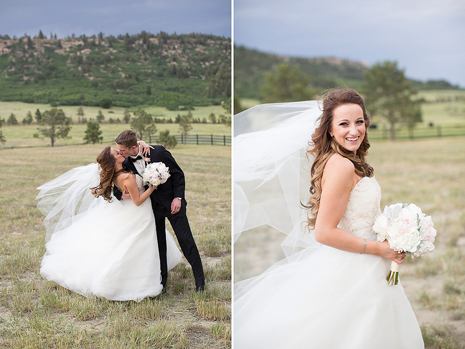 Spruce Mountain Ranch, Colorado Wedding Flowers