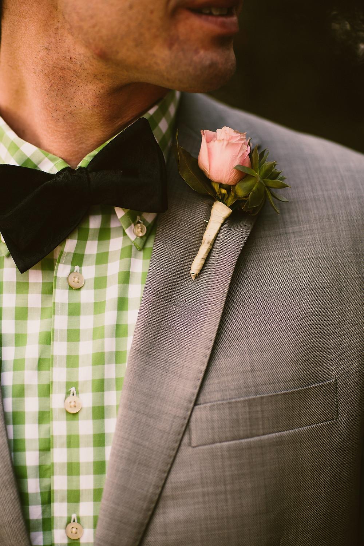 Denver Wedding Florist - Boutineer