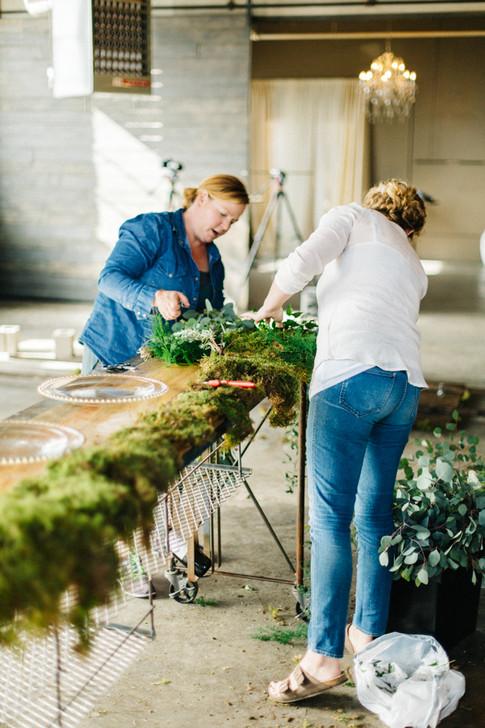 Lisa and Lizzie, Denver Florists