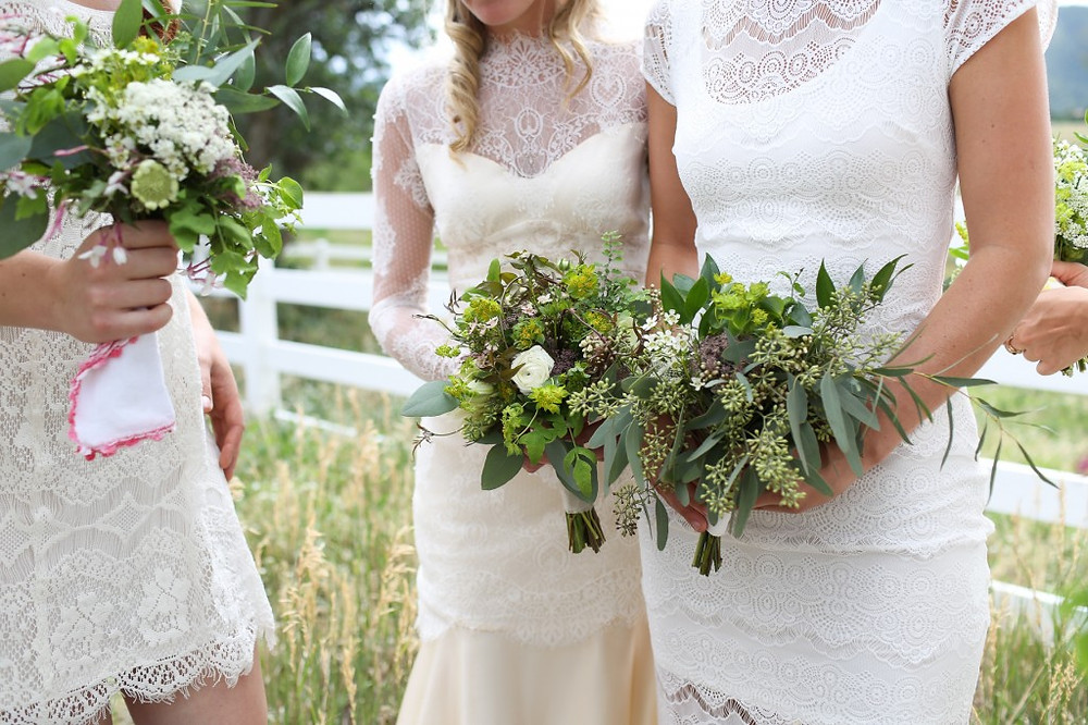 Colorado Wedding Flowers at Crooked Willow Farms