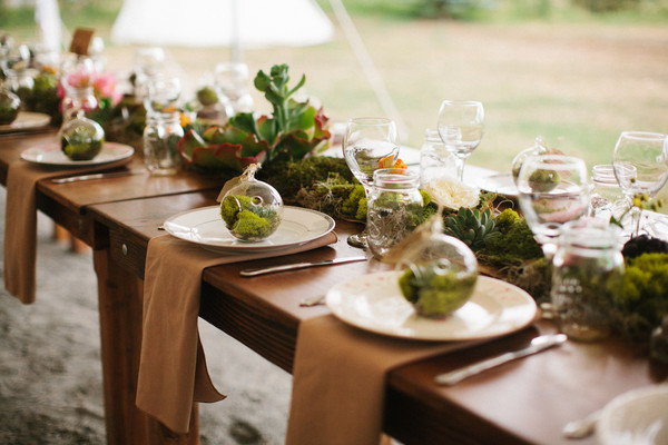 Succulent Wedding Florist at a Colorado Wedding - Pastures of Plenty