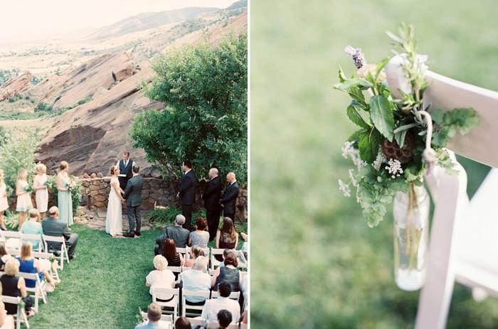 Colorado Wedding Flowers - Red Rocks