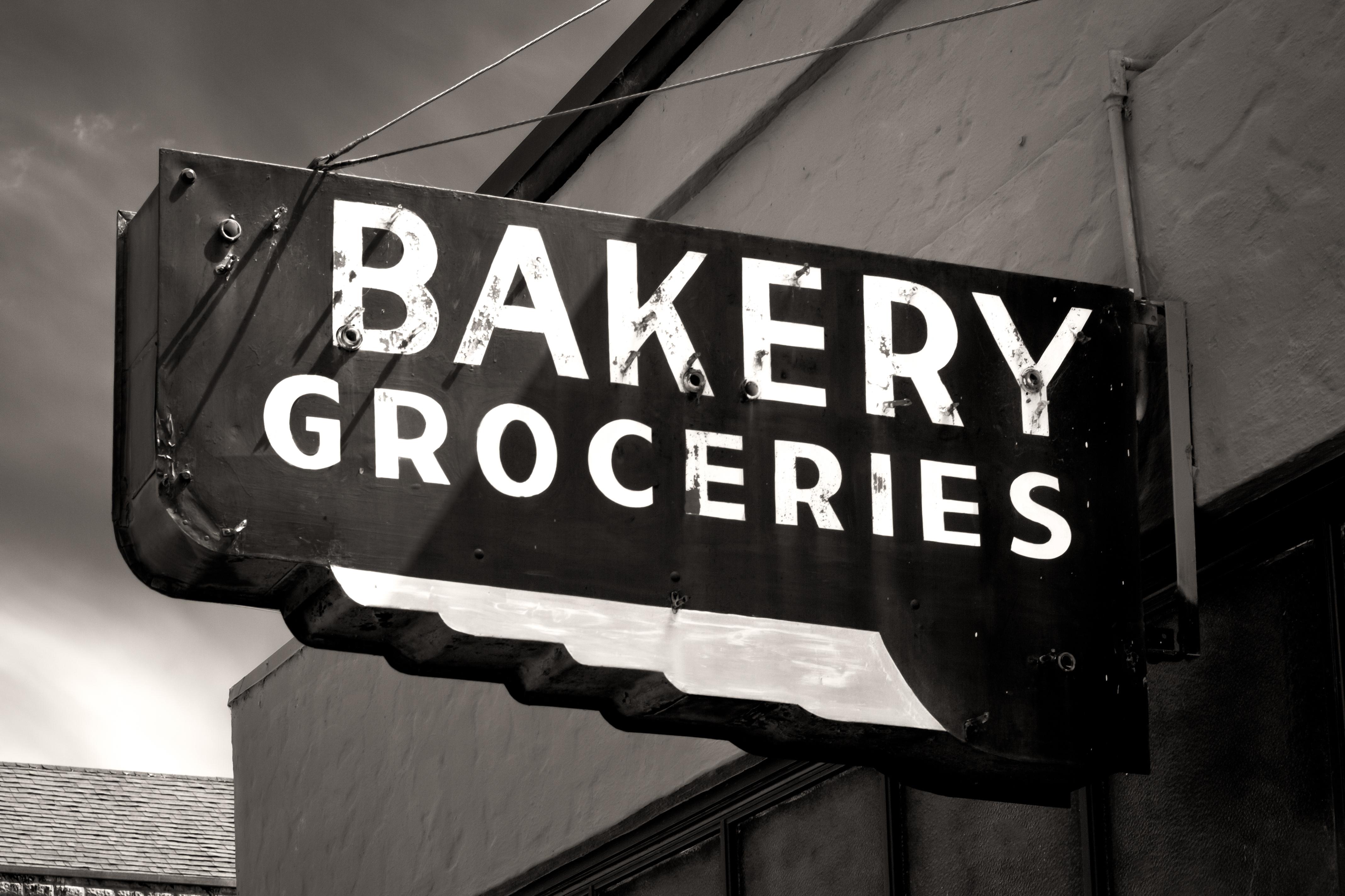 bigstock-Black-And-White-Worn-Bakery-An-64790674