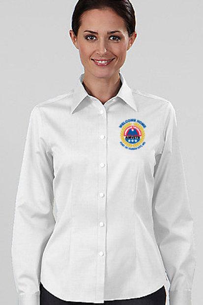 Women's Button Up LS Shirt